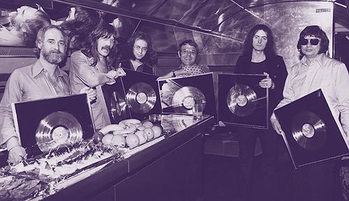 Tony Edwards with Deep Purple