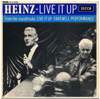 Joe Meek. Heinz - Live It Up EP