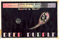 Deep Purple flyer 1971