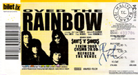 Over The Rainbow ticket